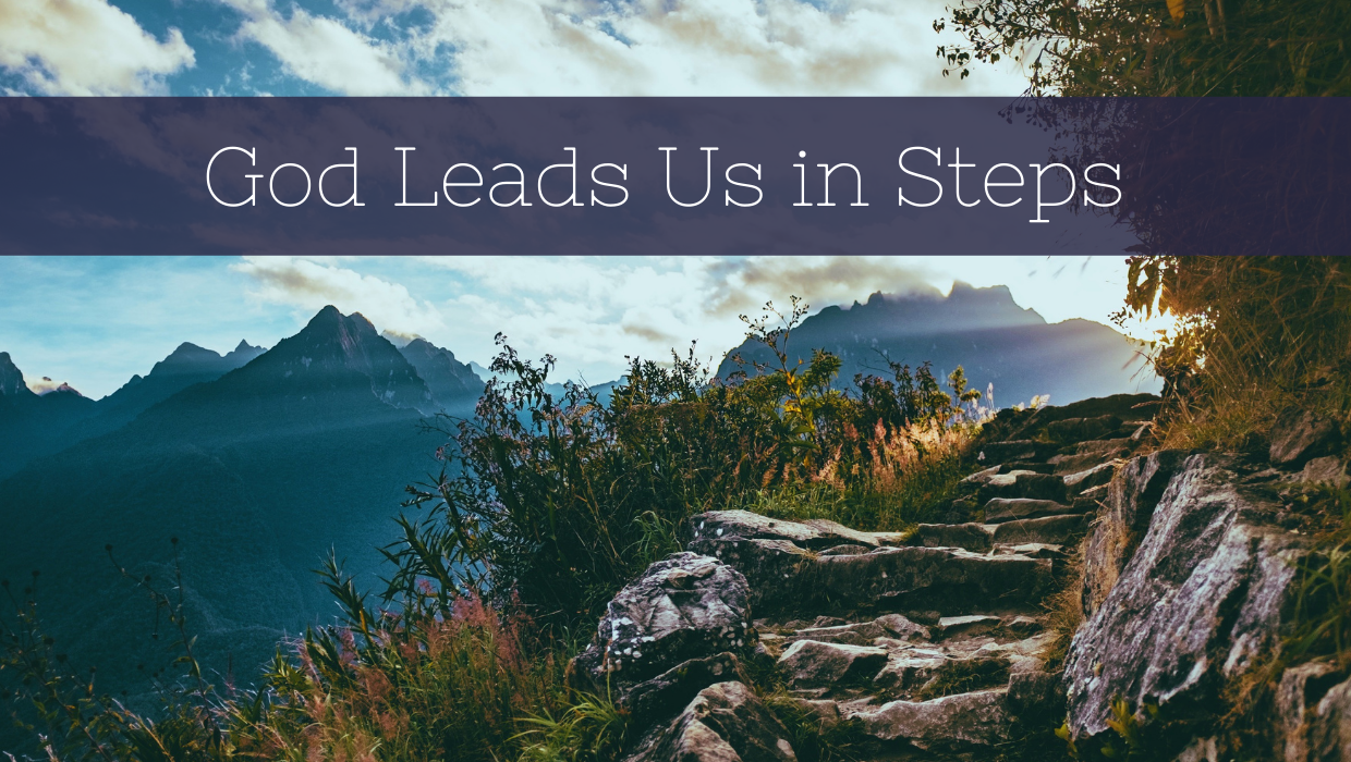 God Leads Us in Steps
